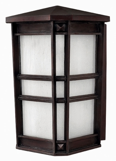 1265VZ-ESDS Hinkley Lighting Park Ave Large Energy Saving Dark Sky Outdoor Wall Sconce