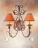 2A75400-2-X 2nd Ave Lighting French Elegance W/crystal