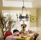 2A871113-28-RD-CX 2nd Ave Lighting Jasmine Chandelier