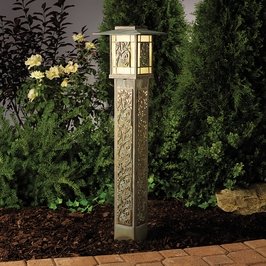 15348VGB Kichler Landscape Bollard 2-Light 12V (DISCONTINUED ITEM!)