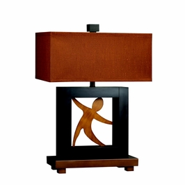 70609 Kichler Lighting Table Lamp in a Expresso Finish (DISCONTINUED ITEM!)