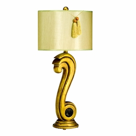 70671 Kichler Lighting Table Lamp in a Antique Gold Finish (DISCONTINUED ITEM!)