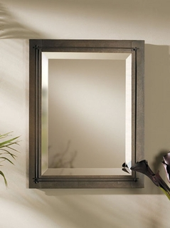 71-0112-05-R Hubbardton Forge Lighting Metra Rectangular Mirror (Returned Item)