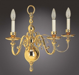 7333-3 Holtkotter Lighting Wurzburg Architectural Flemish Wall Sconce in Polished Brass