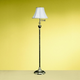 7381TGP Kichler Westwood Swing Arm Floor Lamp 1 Light Porta (DISCONTINUED ITEM!)