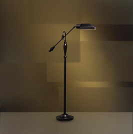 74190 Kichler Bronze Floor Lamp 1Lt Fluorescent Westwood @ Work Collection Floor Lamp (DISCONTINUED ITEM!)