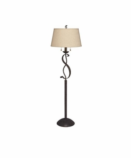 74202 Kichler Old Iron Floor Lamp 2Lt High Country Floor Lamp (DISCONTINUED ITEM!)