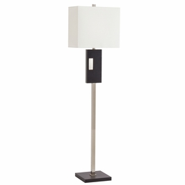 74247 Kichler Westwood Soft Contemporary-Casual Lifestyle View 1 Light Floor Lamp (DISCONTINUED ITEM!)