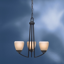 1967DBK Kichler Lighting Lyndon Chandelier in Distressed Brass (DISCONTINUED ITEM!)