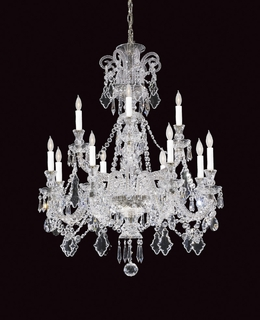 2-15024-12-15 Savoy House Lighting Bohemian Crystal Chandelier Light