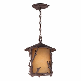 FA8738 Troy Lighting Cheyenne One-Light Outdoor Pendant
