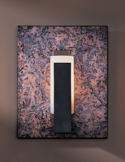 21-7391-DC-07-G63-R Hubbardton Forge Reflections Wrought Iron Wall Sconce on Distressed Copper (Returned Product)