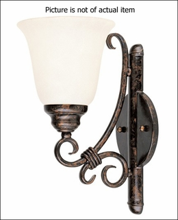 Gz-9-2893-1-56-R Savoy House Wall Sconce (CLEARANCE ITEM)