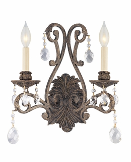 GZ-9-9612-2-49-D Savoy House Lighting Versailles Wall Sconce Display Light