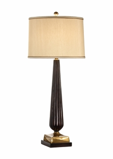 60040 Frederick Cooper Reeded Vase Lamp