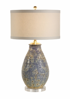 60073 Frederick Cooper Crystaline Lamp