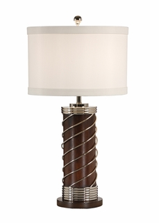 60233 Frederick Cooper Wrapped Cylinder Lamp