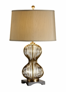 60265 Frederick Cooper Pinched Cage Lamp