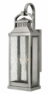 1184PW Hinkley Revere Pewter 120v Candelabra 2 Light Medium Wall Outdoor