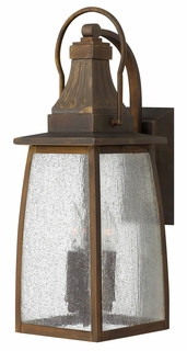 1204SN Hinkley Montauk Sienna 120v Candelabra 3 Light Medium Wall Outdoor