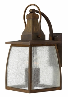 1205SN Hinkley Montauk Sienna 120v Candelabra 4 Light Large Outdoor Wall Fixture