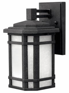 1270VK-GU24 Hinkley Cherry Creek Vintage Black 120v GU24 1 Light Small Outdoor Wall Lantern