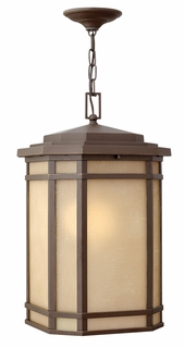 1272OZ-LED Hinkley Cherry Creek Oil Rubbed Bronze 120v 1 Light Hanging Outdoor Fixture