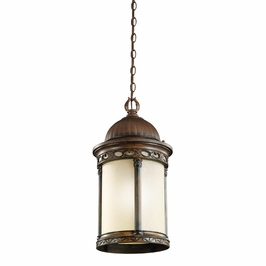 49021BST Kichler Classic (Formal Traditional) Corunna 1 Light Outdoor Pendant (DISCONTINUED ITEM!)