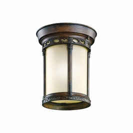49023BST Kichler Classic (Formal Traditional) Corunna 1 Light Outdoor Flush Mount (DISCONTINUED ITEM!)