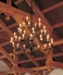 19-157236HC Hubbardton Forge Wrought Iron Lighting Made to Order Chandelier