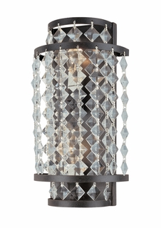 B1832 Troy Lighting Lafayette Two Light Wall Sconce