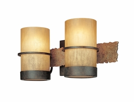 B1842 Troy Lighting Bamboo Two Light Bath Light