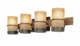 B1844 Troy Lighting Bamboo Four Light Bath Light