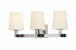 B1913 Troy Lighting Saratoga Three Light Bath Light