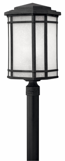 1271VK Hinkley Cherry Creek Vintage Black 120v 1 Light Large Outdoor Post Fixture