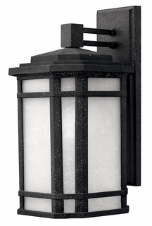 1274VK Hinkley Cherry Creek Vintage Black 120v 1 Light Medium Outdoor Wall Mount
