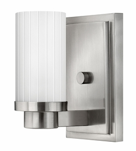 4970BN Hinkley Midtown Brushed Nickel 120v 1 Light Wall Sconce