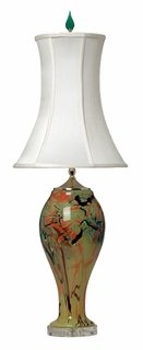 1008-C05-TL01 Thumprints Mermaid Table Lamp