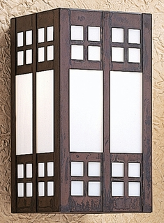 GS-9 Arroyo Craftsman Nine-inch Glasgow Wall Sconce