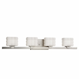 5023NI Kichler Lighting Wall Mounted Bath Fixture in Brushed Nickel (DISCONTINUED ITEM!)