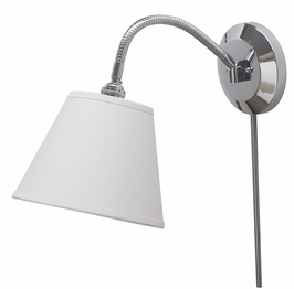 FLX125-CH House of Troy Flex Collection Wall Lamp Chrome (DISCONTINUED ITEM!)