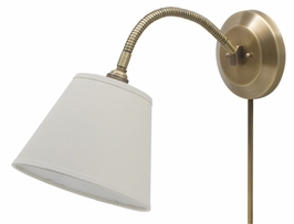 FLX125-AB House of Troy Flex Collection Wall Lamp Antique Brass (DISCONTINUED ITEM!)