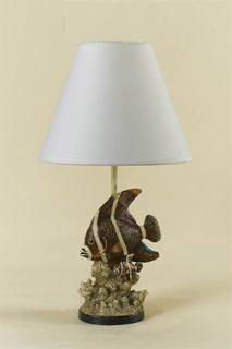 AFL7077-TL-R AF Lighting Water's Edge Traditional Table Lamp (CLEARANCE ITEM)