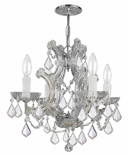 4474-CH-SSS Crystorama Maria Theresa Chandelier Draped In Swarovski Elements Crystal
