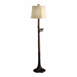 74165 Kichler Woodbark Outdoor Floor Lamp 1Lt Outdoor Portables Floor Lamp (DISCONTINUED ITEM!)