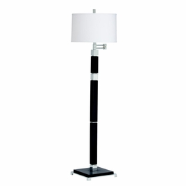 74237 Kichler Wood Floor Lamp 1Lt Alex Floor Lamp (DISCONTINUED ITEM!)