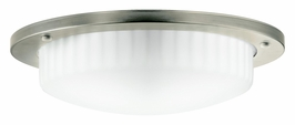 10894AP Kichler Athenos 2Lt Fluorescent Flush Mount (DISCONTINUED ITEM!)