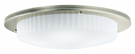 10895AP Kichler Athenos 3Lt Fluorescent Flush Mount (DISCONTINUED ITEM!)