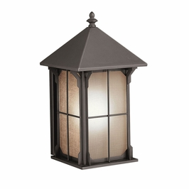 10969OZ Kichler Olde Bronze Outdoor Wall 1Lt Fluorescent Astoria Outdoor (DISCONTINUED ITEM!)