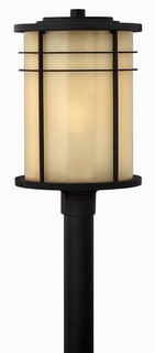 1121MR-ES Hinkley Outdoor Ledgewood 1 Light Medium Post